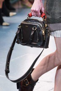 Chloe Mini Black Daria Bag - Spring 2020