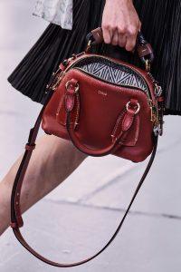 Chloe Small Red Daria Bag - Spring 2020