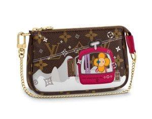 Louis Vuitton Courchevel Mini Pochette