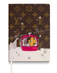 Louis Vuitton Courchevel Notebook Vivienne