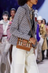 Louis Vuitton Dauphine MM Striped Bag - Spring 2020