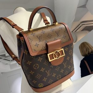 Louis Vuitton Dauphine Reverse Monogram Backpack - Spring 2020