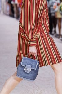 Louis Vuitton Suede Top Handle Bag - Spring 2020