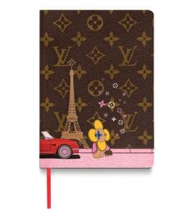 Louis Vuitton Xmas Vivienne Clemence Notebook Paris