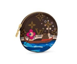 Louis Vuitton Xmas Vivienne Coin Purse Venice