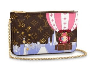 Louis Vuitton Xmas Vivienne Hot Air Balloon Pochette 2019
