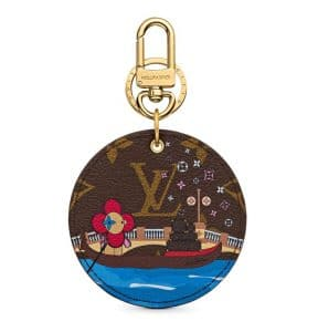 Louis Vuitton Xmas Vivienne Key Chain Venice 2019