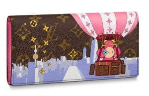 Louis Vuitton Xmas Vivienne Shanghai Hot Air Balloon Sarah Wallet
