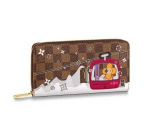 Louis Vuitton Xmas Vivienne Ski Lift Zippy Wallet 2019