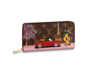 Louis Vuitton Xmas Vivienne Zippy Wallet Paris