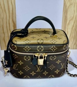 Louis Vuitton Reverse Monogram Vanity Shoulder Bag