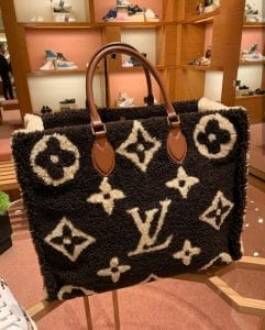 Louis Vuitton Teddy OntheGo Tote Bag