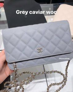 Chanel Grey WOC Bag - Cruise 2020