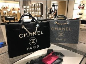 Chanel Wool Deauville Bag