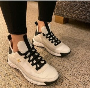Chanel White Sports Trainers - Cruise 2020
