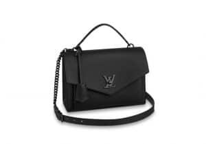 Louis Vuitton Black Lock Me Flap Bag - Spring 2020