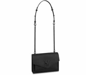 Louis Vuitton Black Lock Me Shoulder Bag - Spring 2020