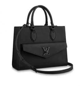 Louis Vuitton Black Lock Me Tote Bag - Spring 2020