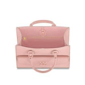 Louis Vuitton Pink Lock Me Tote Bag - Spring 2020 - 2