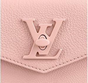 Louis Vuitton Pink Lock Me Tote Bag - Spring 2020 - 3