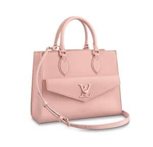 Louis Vuitton Pink Lock Me Tote Bag - Spring 2020