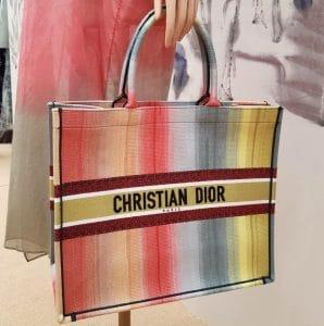 Dior Rainbow Book Tote Bag