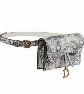Dior Floral Print Belt Bag