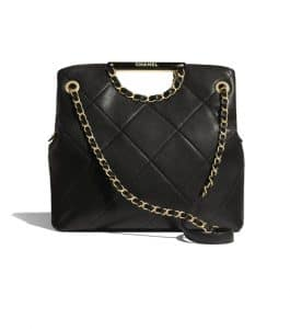 Chanel Small Chain Shopping Shoulder Bag
