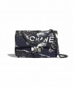 Chanel Small Graffiti flap Bag