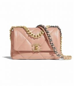 Chanel 19 Pink Small Flap Bag