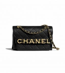 Chanel Wrist Logo Chanel Quilted Flap