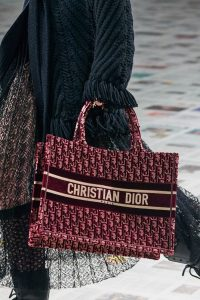 Dior Small Oblique Velvet Book Tote - Fall 2020
