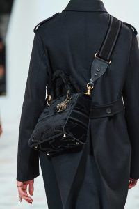 Dior Velvet Messenger Bag - Fall 2020