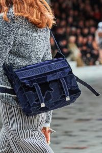 Dior Camp Messenger Velvet Bag - Fall 2020