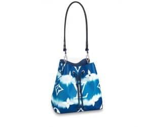 Louis Vuitton Neo Noe Escale Navy Bag