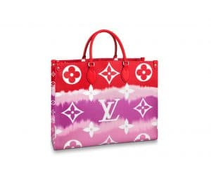 Louis Vuitton OntheGo Red Tote bag