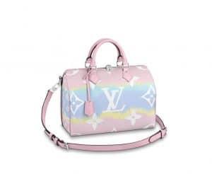 Louis Vuitton Speedy 30 Escale Pink Bag