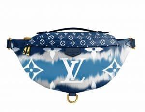 Louis Vuitton Blue Tie Dye Bumbag