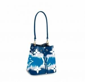 Louis Vuitton Blue Tie Due Neo Noe Bag