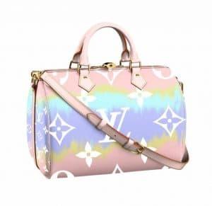 Louis Vuitton Speedy 30 Tie Dye Bag