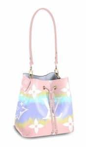 Louis Vuitton Pink Tie Due Neo Noe Bag