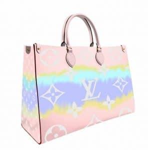 Louis Vuitton Pink Tie Dye OntheGo Bag