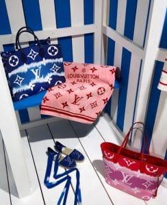 Louis Vuitton Tie Dye Bag Collection