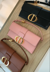 Dior 30 Montaigne Clutch - Fall 2020