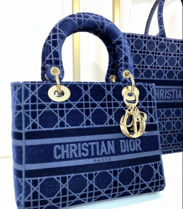 Lady Dior D-lite Cannage Bag