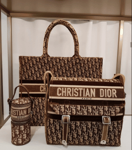 Dior Yellow Velvet Bag - Fall 2020