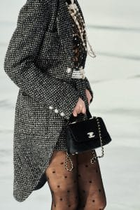Chanel Mini Coco Handle Velvet - Fall 2020