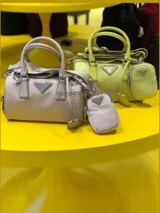 Prada Duffle Re-Edition Strap Bag