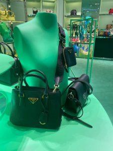Prada Re-edition Saffiano Tote Bag
