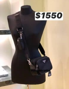 Prada Re-edition Strap Messenger Bag